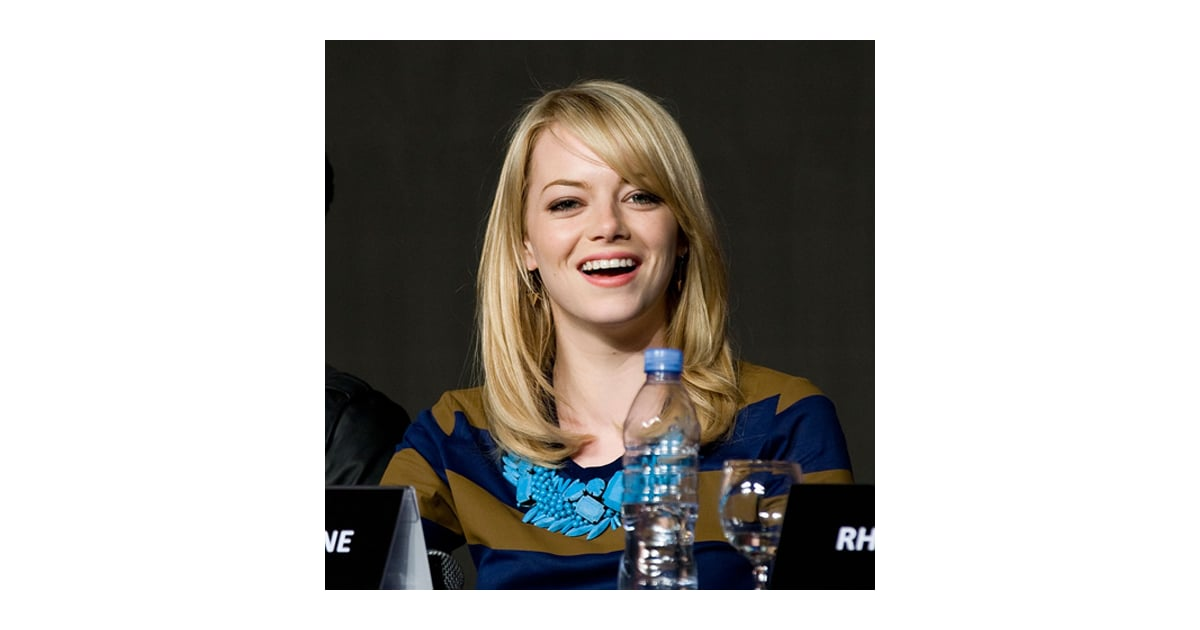 Emma Stone's Jewelry During the Amazing Spider-Man Tour ...