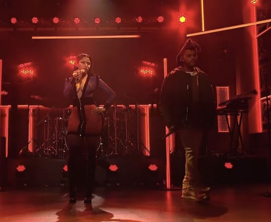 """The Weeknd Brings Out Surprise Guest Nicki Minaj for SNL Performance of """"The Hills"""": Watch"""