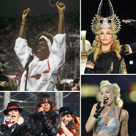 Step Back in Time: Super Bowl Performers' Iconic Beauty Looks
