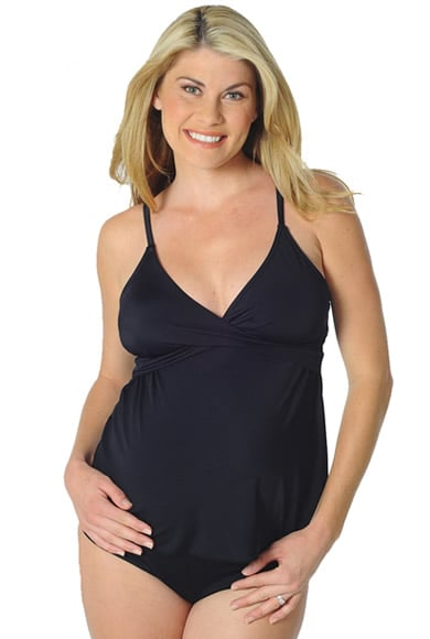 Maternal America's Prego Maternity Tankini ($46) is a versatile option, offering full coverage or a bit of exposed belly, should you dare to bare!