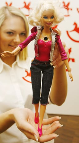New Barbie Comes With Built-In Video Camera