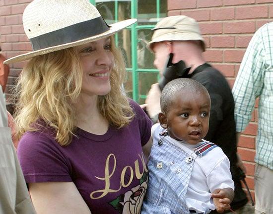 Madonna's Adoption of Malawian Son David Finalized