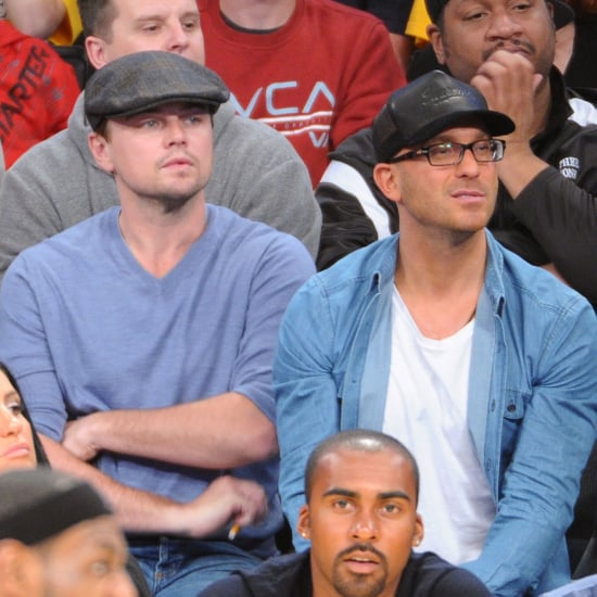 Celebrity Pics: Leonardo DiCaprio, Hilary Duff At Basketball