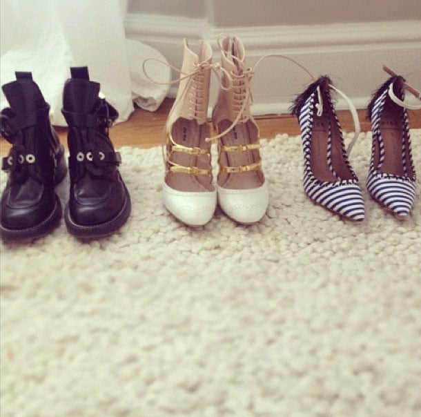 The Coveteur showed off some very enticing shoes... Balenciaga, Miu Miu... jealous!