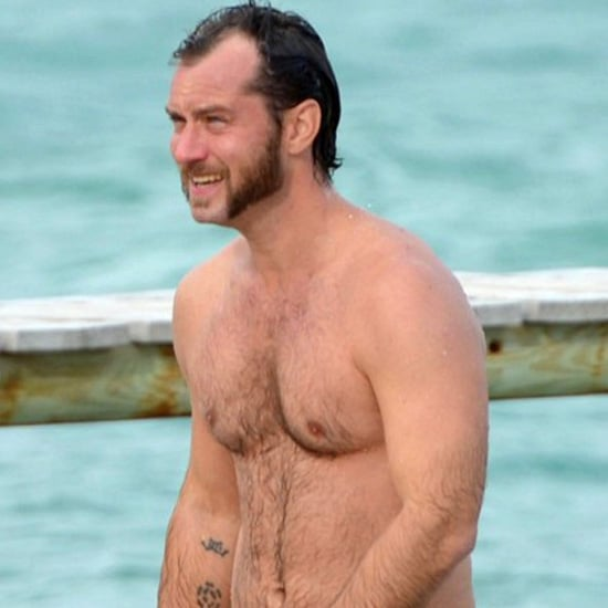 Jude Law Shirtless in Saint-Tropez | Pictures