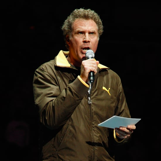 Heads Up! Will Ferrell Beaned a Cheerleader in the Head With a Basketball