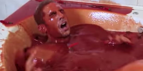 Man Bathes In Hot Sauce, Immediately Questions His Life Choices
