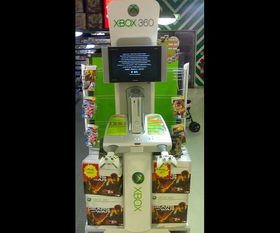 Xbox 360 Demo Stand in Adelaide, Australia