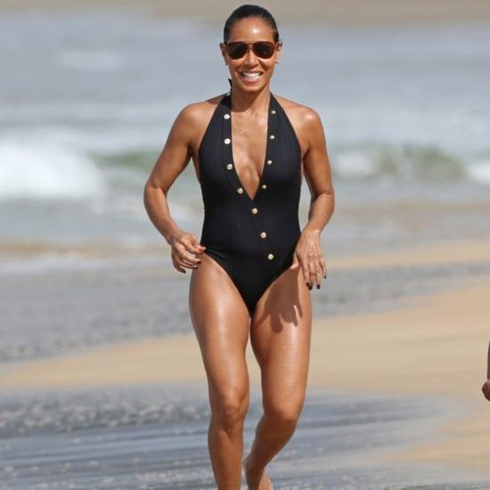 Jada Pinkett Smith Bikini Pictures in Hawaii 2015