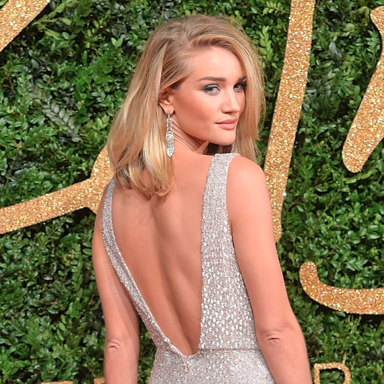 Rosie Huntington-Whiteley's Sexy Red Carpet Dresses