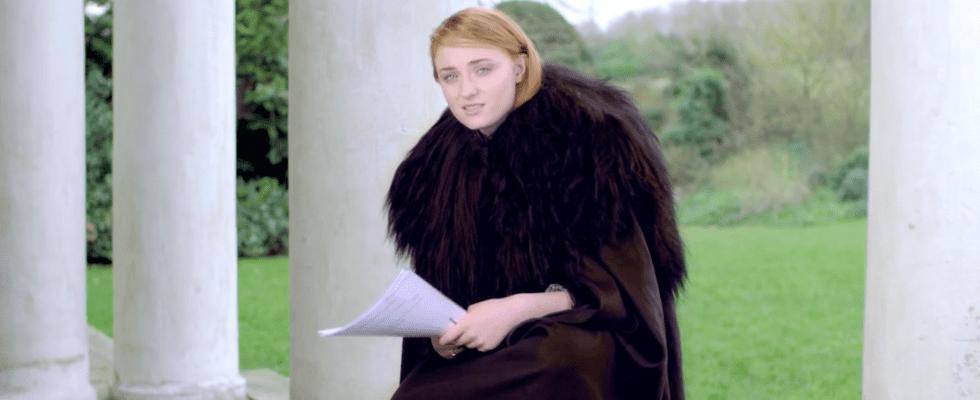Watch Sophie Turner Recite Adele Lyrics With the BEST Jon Snow Impression