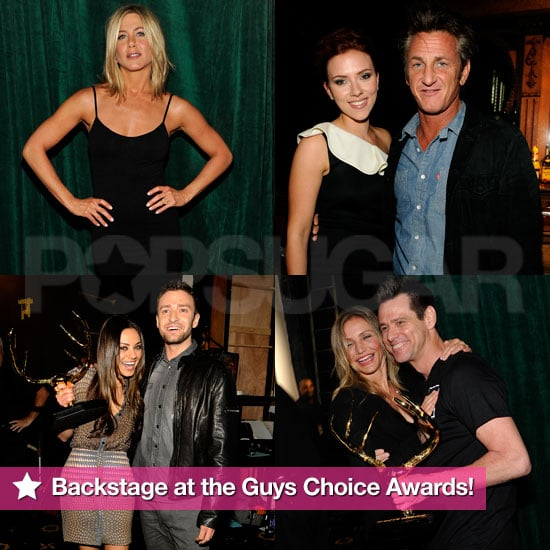 Jennifer Aniston, Sean Penn, and Scarlett Johansson Pictures at the Guys Choice Awards