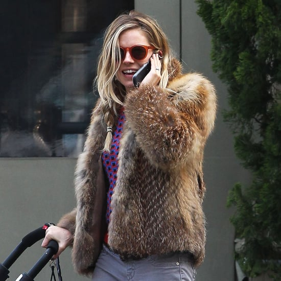 Sienna Miller With Marlowe Sturridge in NYC | Pictures