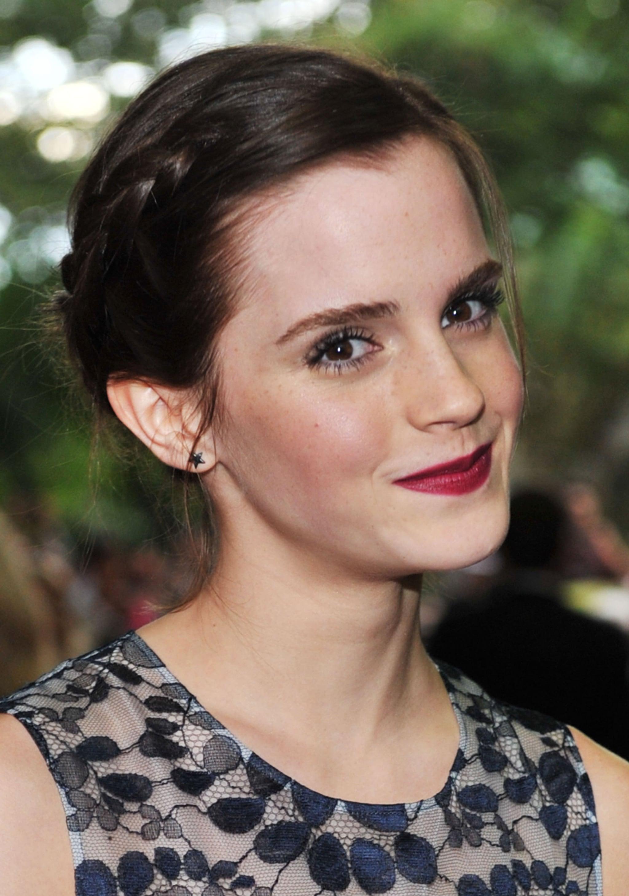 "On Daniel Radcliffe Saying She Kisses ""Like an Animal"""