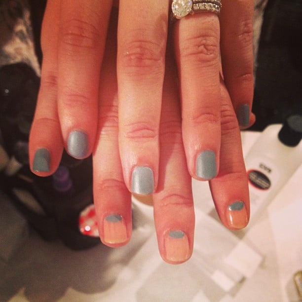 The two nail looks from Lela Rose easily mix and match.