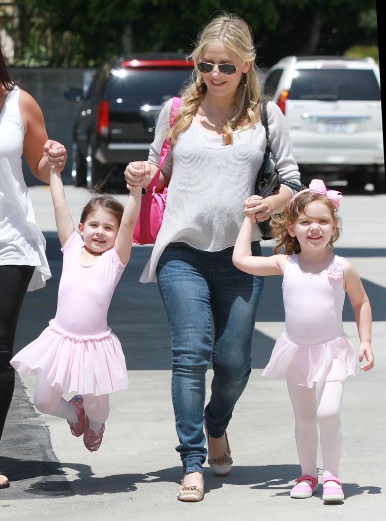 SMG Goes From Ballet With Charlotte to Boas With Betty White