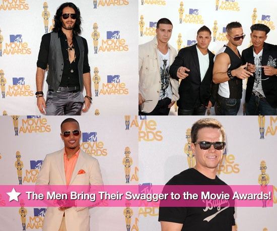 The Men Bring Their Swagger to the MTV Movie Awards!