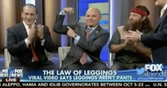 Fox Invites 'Panel Of Dads' To Judge Whether Women Should Wear Leggings
