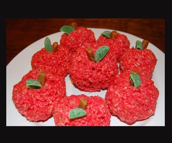 Twilight-Themed Fete? Make Rice Krispies Apples!