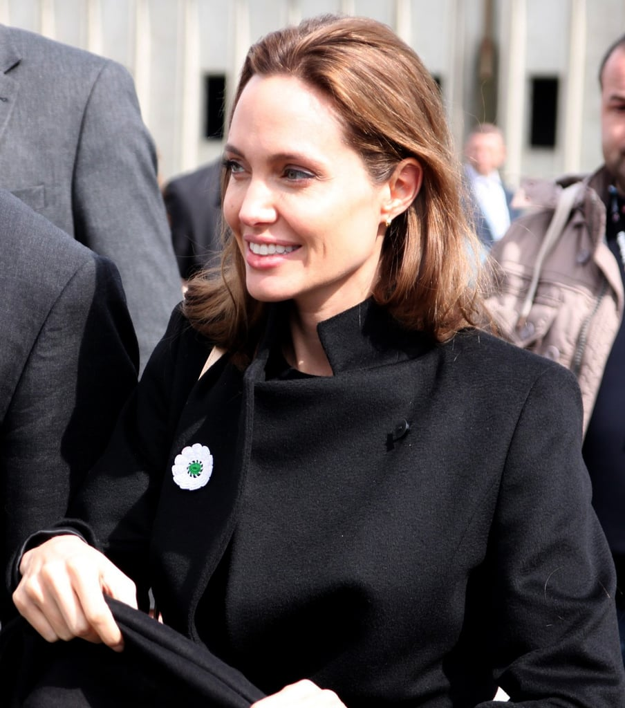 Angelina Trades Las Vegas For Sarajevo For Her Latest Mission