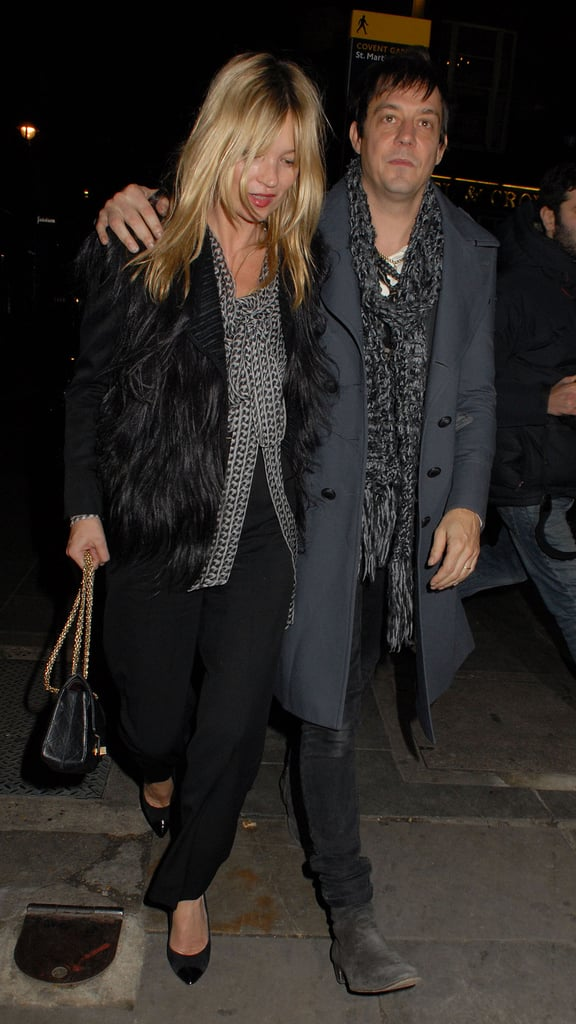 Jamie Hince and Kate Moss are coming up on their six-month anniversary.