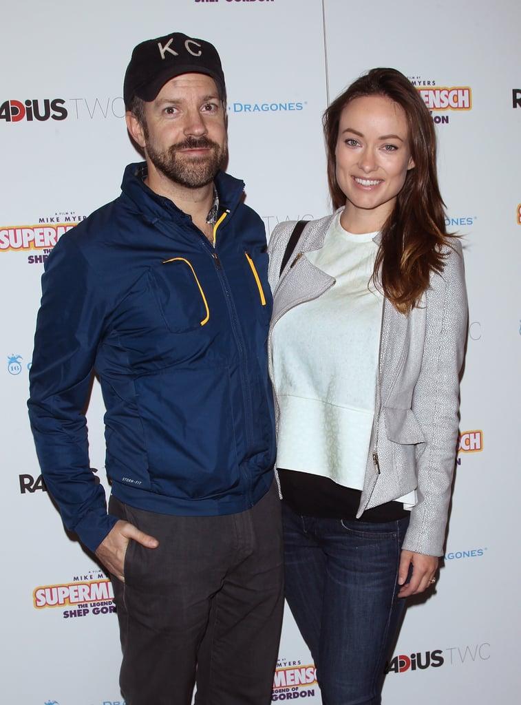 Olivia Wilde and Jason Sudeikis