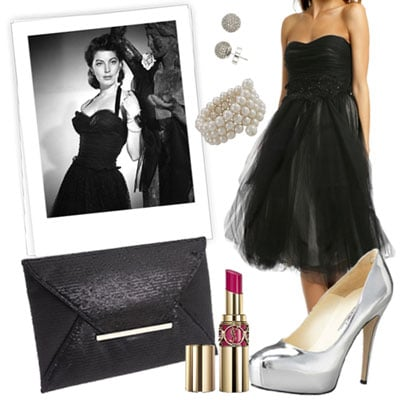 New Year's Eve Outfit Inspired by Old Hollywood Ava Gardner