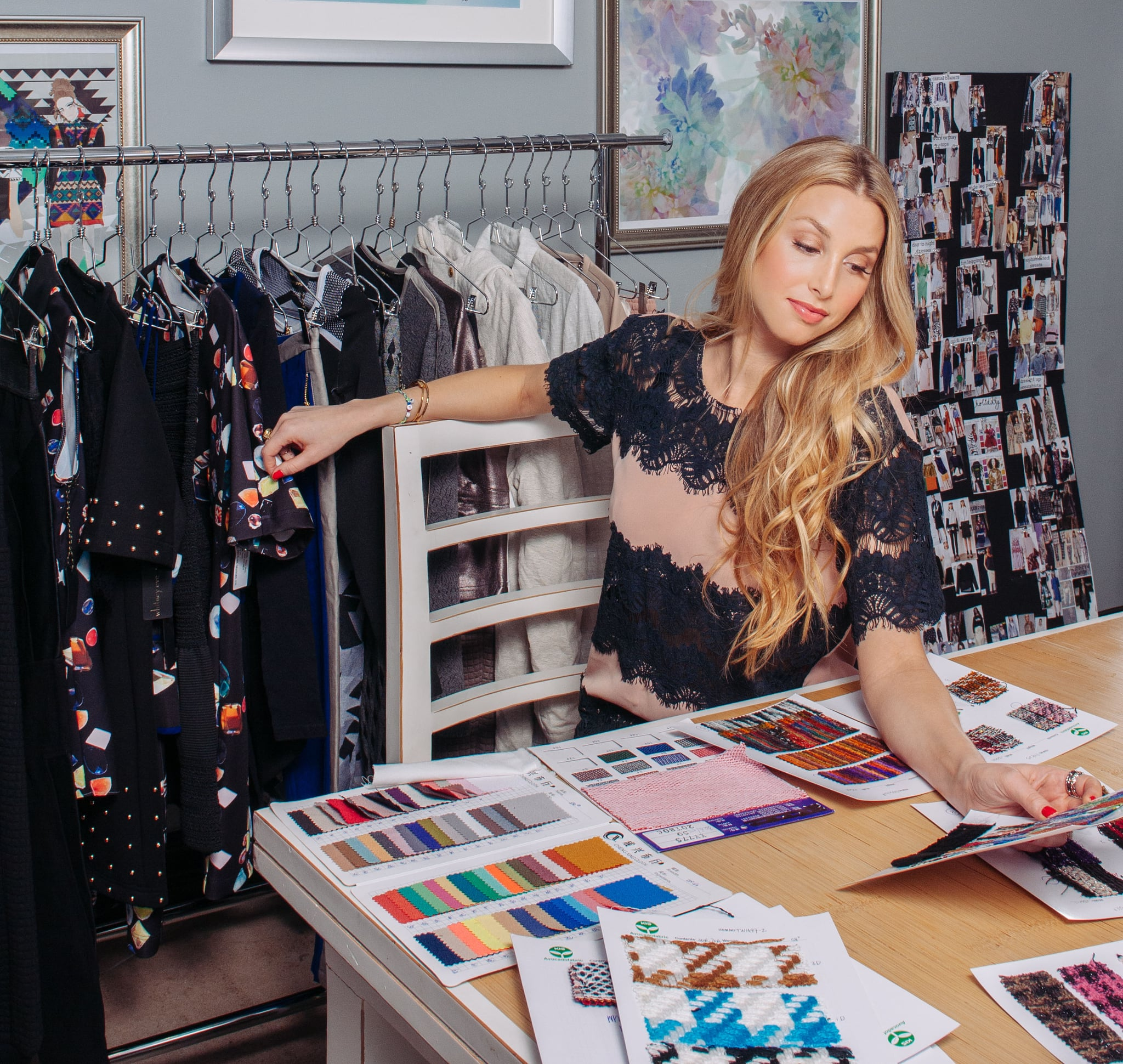 PS: It's definitely not all wedding all the time. You've got Whitney Eve, your fashion line. How has it evolved since it launched in 2009? WP: When I originally started this, it was an art project for me. I love fashion, and I grew up in the fashion industry, and so when I was doing it, I was designing things I thought I was going to wear to red carpet events — 100 percent silk and velvets and all these embellished fabrics. I realized that this is not true to the core of me. I'm comfortable, I am an LA girl, a beach girl, so I started to want to design things that I was going to feel comfortable wearing every day. So it evolved into something a little bit more sporty and casual, which is where the line is headed. It's something every girl can wear. PS: Be honest. Do you design for yourself? WP: All the time. That's the whole fun — that you're getting a new wardrobe for yourself every collection. When people are looking to me for my line, they're looking to see what I would want to wear, what my style is. So everything in my collection is what I feel like my wardrobe is missing. Like, I'm a sucker for a good pair of sweatpants. And I'm trying to master the dressed-up sweats right now.  PS: And you are officially a handbag designer! Tell us about the tote bag line you've created. WP: It's for the Diet Coke Tastemakers Project, and I designed four different tote bags, each with a different motif — a quirky look that people would love. People can vote online now through June 15, and when you vote you're automatically entered to win a full-on fashion experience with me at Fashion Week. And the winning bag will be sold at Target. It's just a fun way for people who love fashion to get involved, and they have a say in creating something in the fashion world.  Photo courtesy of Diet Coke