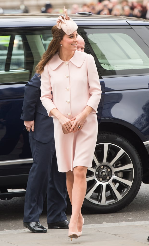 Kate Middleton at Commonwealth Service in 2015