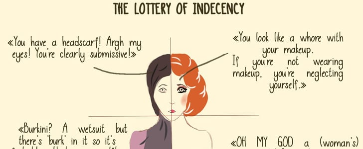 This Viral Illustration Perfectly Shows How Women Get Criticized No Matter How They Dress