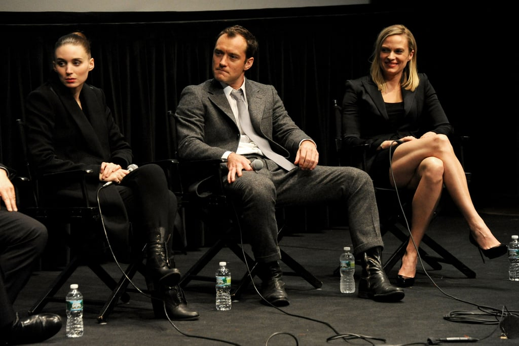 Rooney Mara, Jude Law, and Vinessa Shaw spoke to the press at the screening in New York.