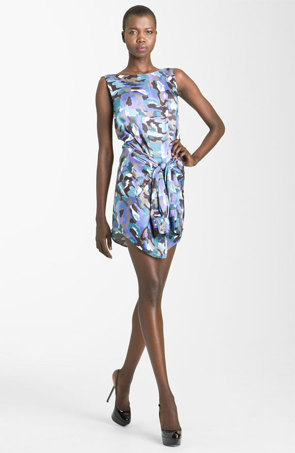 Spice up a night out with this silk-blend dress — the camo-print is subtle and looks pretty and watercolor-inspired from far away. Thakoon Addition Camo Print Silk Dress ($480)