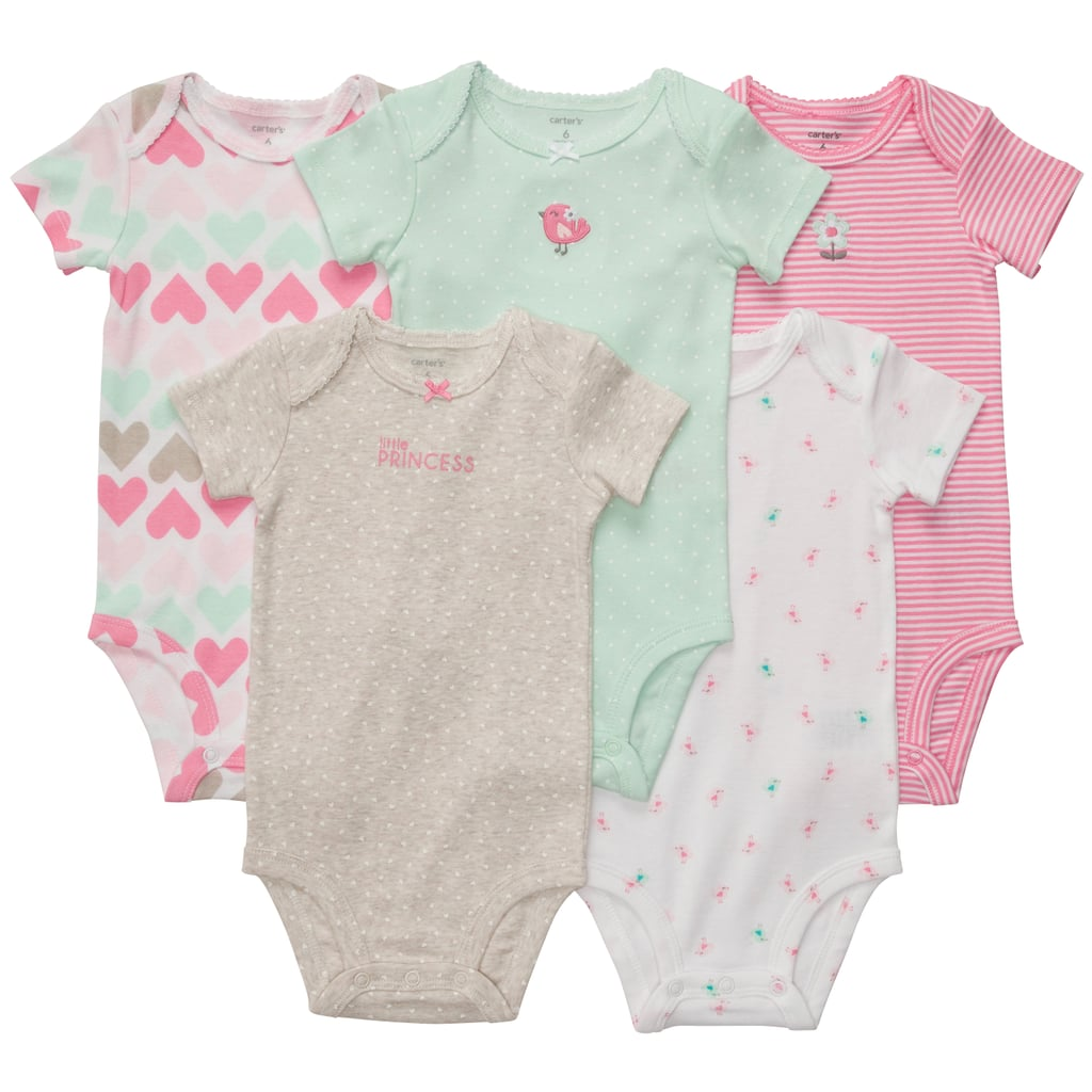Pink and Mint Onesies