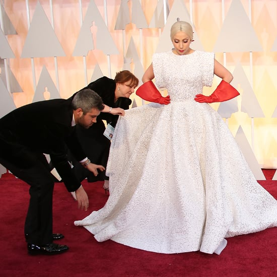 Red Carpet Gown Train Wranglers