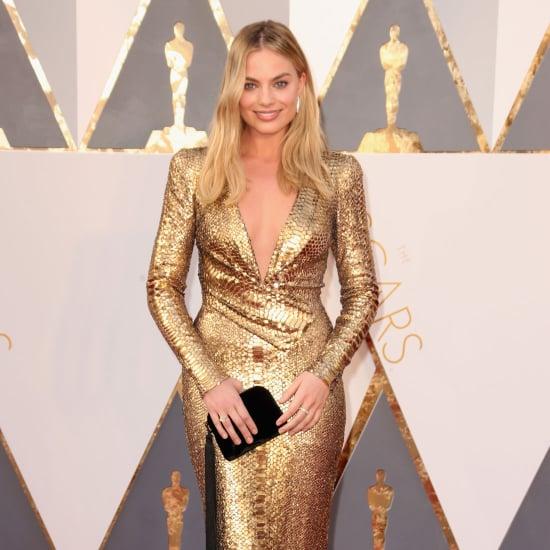 Margot Robbie's Dress at Oscars 2016