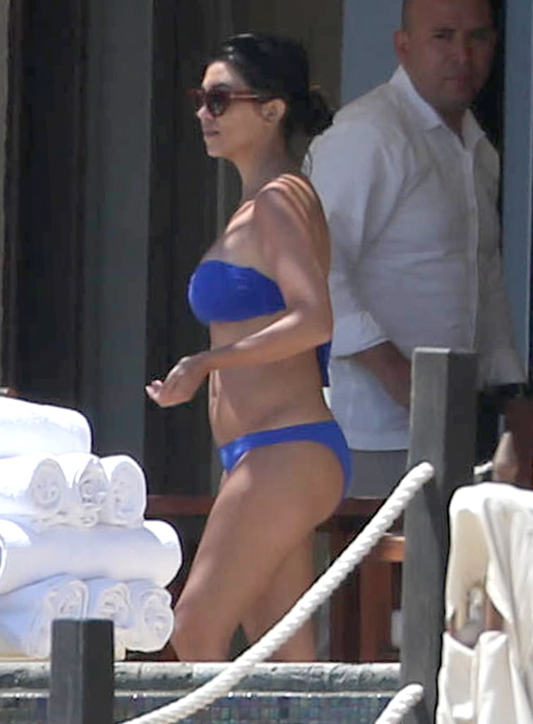 Kourtney Kardashian Celebrates Her Birthday in a Bikini