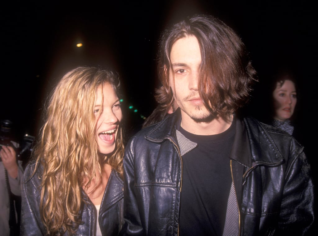 You were cool with it when he moved on to Kate Moss.