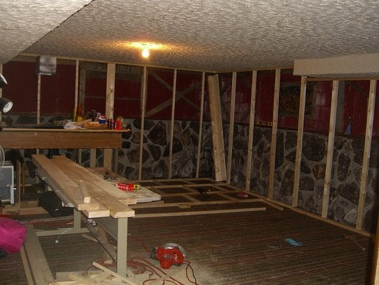 Before and After: DeJaVuE's Basement Remodel