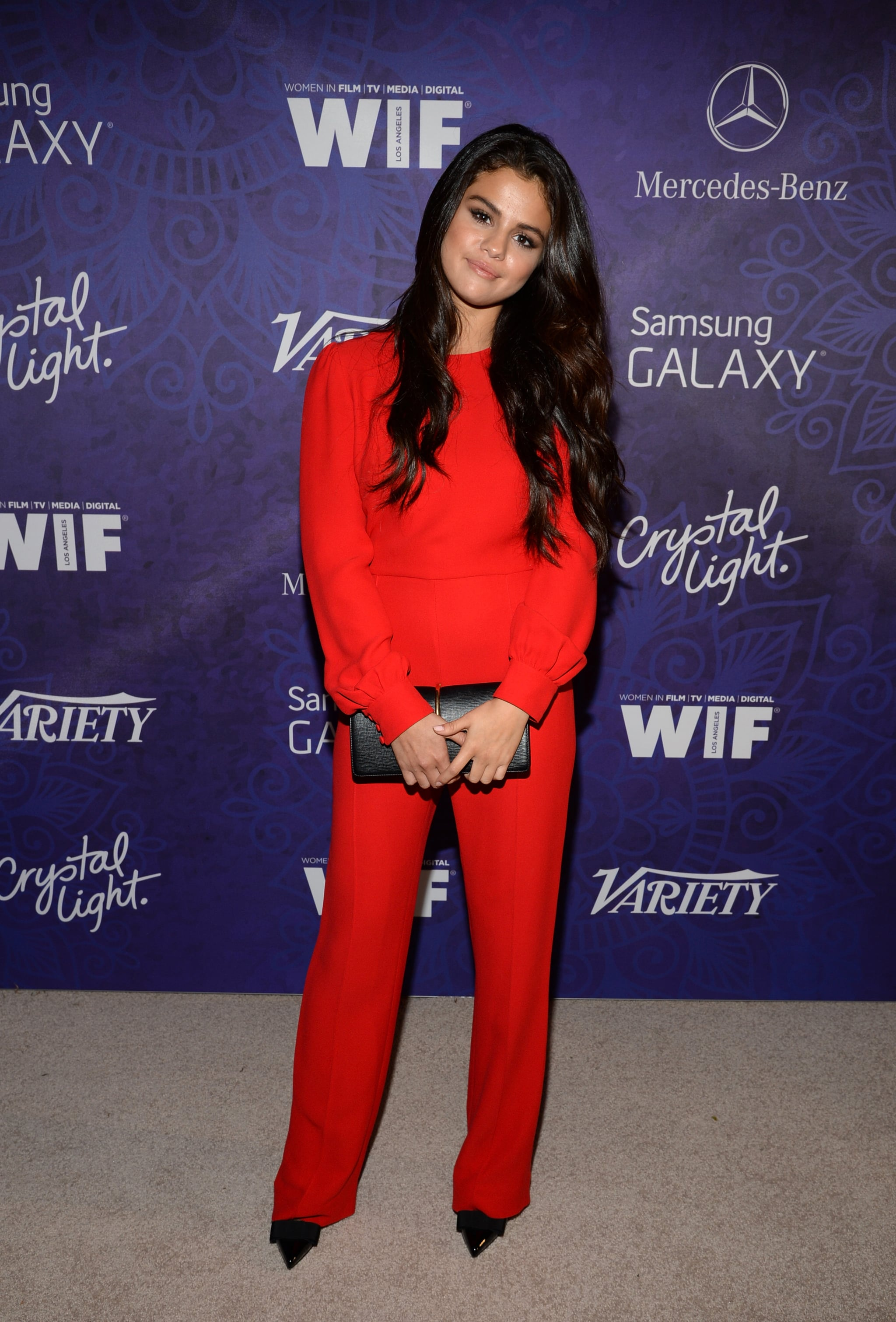 Selena Gomez spent her Saturday night at Variety's fete.