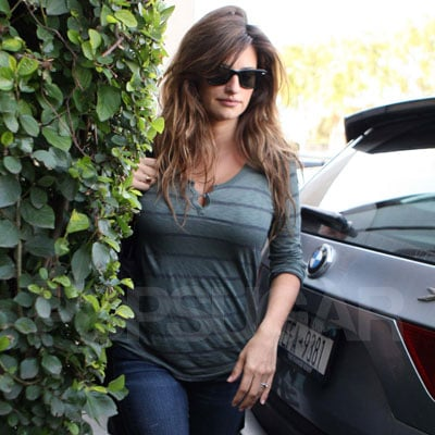 Pictures of Penelope Cruz After Baby