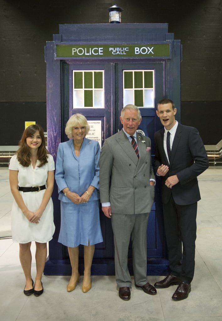 The Impossible Girl and the Doctor met the future king and queen.
