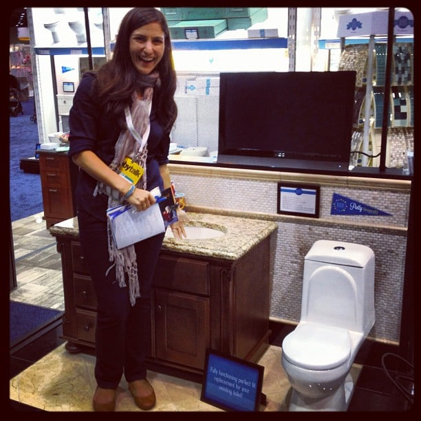 Kids Bath is hoping to introduce the concept of luxury tot-size toilets and sinks to the home. Designed for kids from 2 to 6 years old, the toilets fit all standard-size bathrooms.