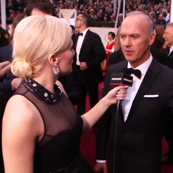 Michael Keaton Oscars Red Carpet Interview 2015 | Video