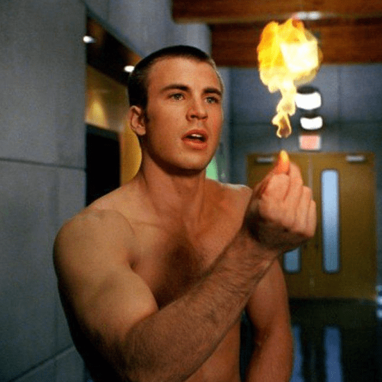 All the Shirtless Chris Evans Movie Moments You Can Handle