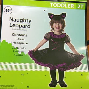 Inappropriate Kids' Halloween Costume