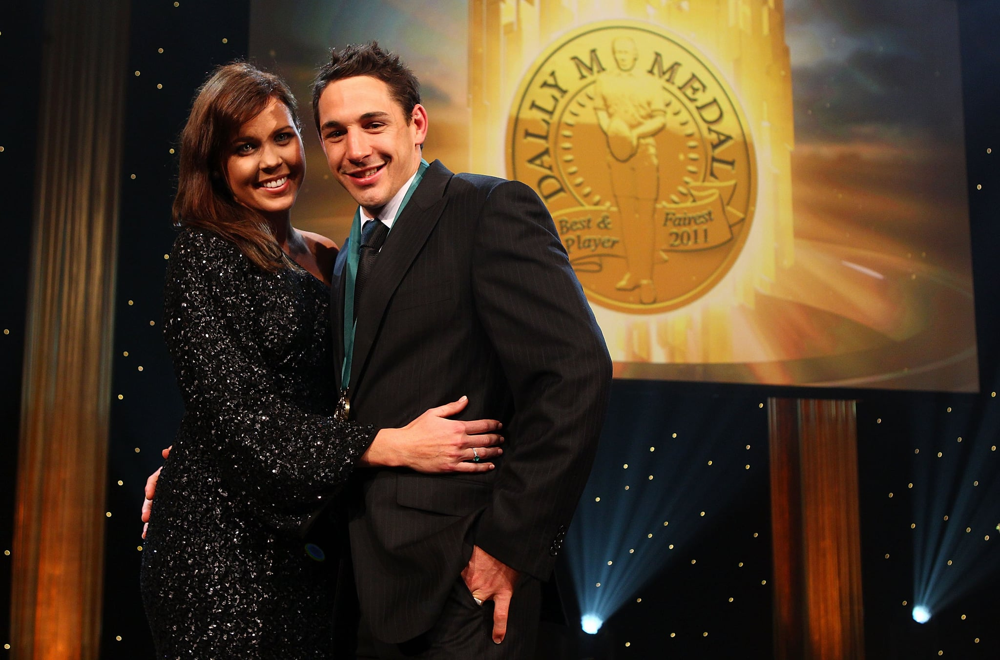 Nicole and Billy Slater