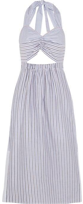 See by Chloe Cutout Halter Dress