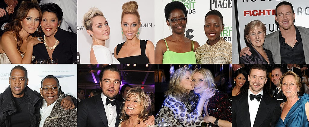 85 Stars Being Sweet With Their Mums