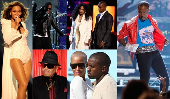 Photos and Video from 2009 BET Awards Janet Jackson, Jamie Foxx, Kanye West, Joe Jackson, Beyonce Knowles, Jay-Z