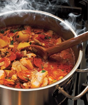 Recipe For Smoky Fish Chowder